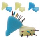 Jordco® e-Foam® Insert Refill Pack - Qty 48 (24 blue & 24 yellow)