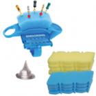 EndoRing II Starter Kit (1 EndoRing w/ Plastic Ruler, 2 GelWell Cups & 48 Foam Inserts)