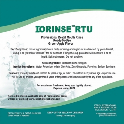 IoRinse - Molecular Iodine Mouth Rinse - COVID-19 Mouth Rinse