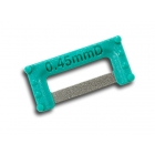 ContacEZ IPR Turquoise Widener (0.45mm), Double-Sided - Box of 8