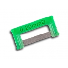 ContacEZ IPR Green Extra-Widener (0.20mm), Double-Sided - Box of 8