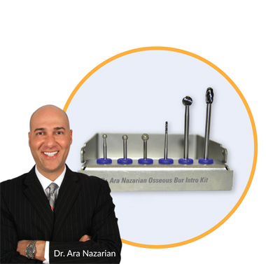 Dr. Nazarian Osseous Bur Intro Kit