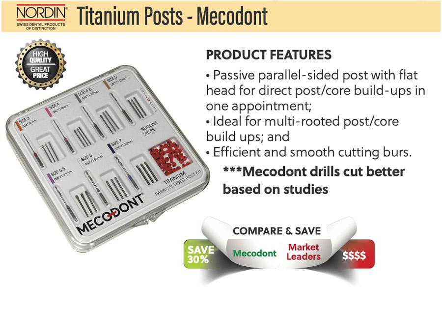 Titanium Posts GoldenDent, Michigan